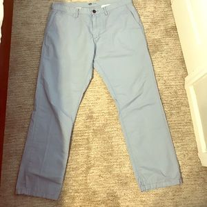 """Lightweight """"frost at sea"""" chino pants 36 x 30"""